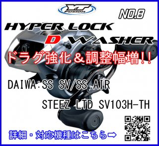 HYPER LOCK D WASHER #8