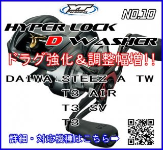 HYPER LOCK D WASHER #10