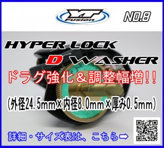 HYPER LOCK D WASHER 単品 NO.8