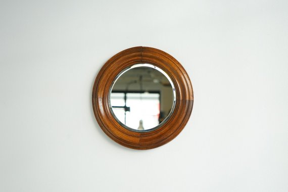 WOOD FLAME MIRROR
