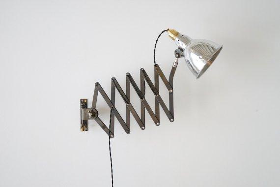MAZDA SCISSOR LAMP