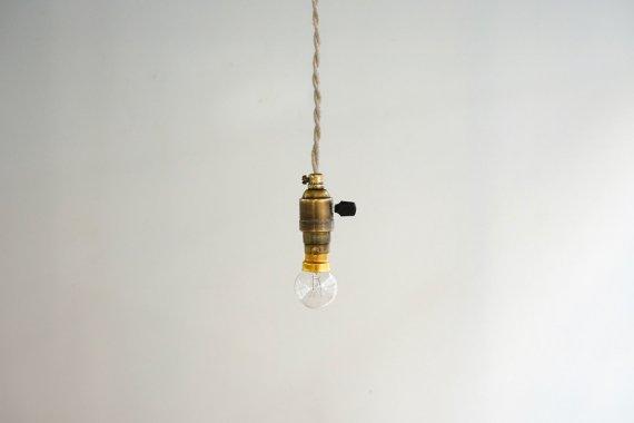 BRASS LAMP-A