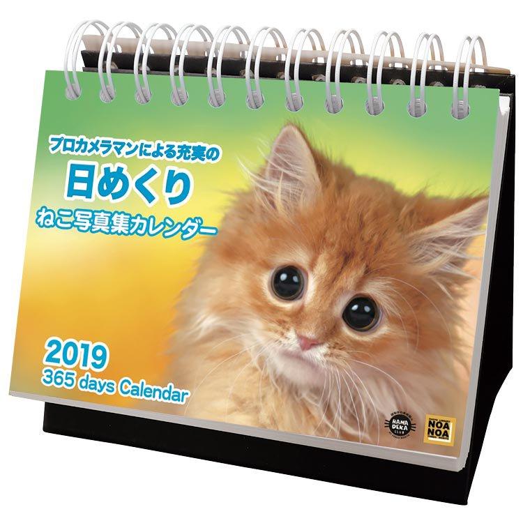 2018年 ねこ写真集 卓上カレンダー ACL-576