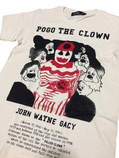 JOHN WAYNE GACY(ジョン・ウェイン・ゲイシー) T-shitrs /natural BODY