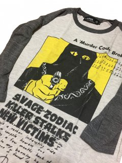 ZODIAC KILLER(ゾディアックキラー)  T-shirts/ raglan sleeve BODY