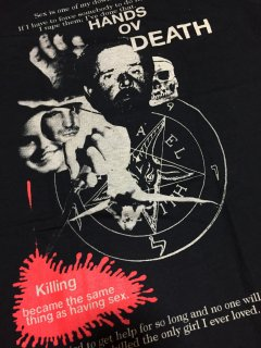HANDS OF DEATH/HENRY LUCAS&OTTIS TOOLE(死の腕/ヘンリー・ルーカス&オーティス・ツール) T-shirts