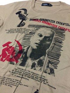 ANDREI CHIKATILO(アンドレイ・チカチーロ)   T-shirts/  sand khaki BODY
