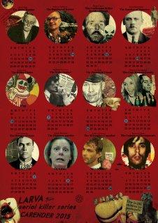 serial killer カレンダー 2015 ltd.66