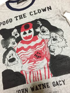 JOHN WAYNE GACY/ ジョン・ゲイシー T-shirts/ gray Melange type