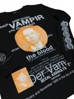PETER KURTEN(ペーター・キュルテン) T-shirts / black BODY  longsleeve