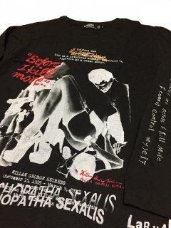 WILLIAM HEIRENS(ウィリアム・ハイレンズ) T-shirts/ black BODY/ longsleeve