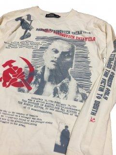 ANDREI CHIKATILO(アンドレイ・チカチーロ) T-shirts/ natural BODY/ longsleeve(リブ有)