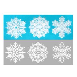 美濃和紙「カミノシゴト」 SNOWFLAKE(Sサイズ)  Russia