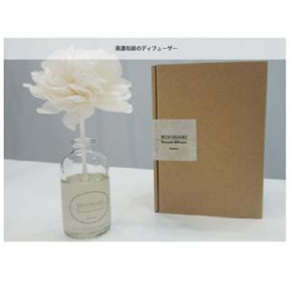 美濃和紙ルームフレグランス「カミノシゴト」 MINIOGAMI Bouquet diffuseur/ 蓮