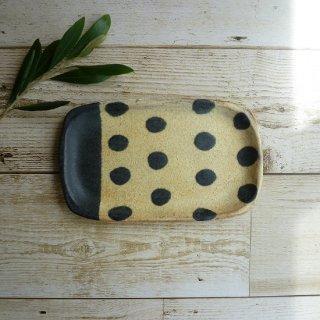 sunny-craft サニークラフト めいめい皿(きせと釉/ラインドット)