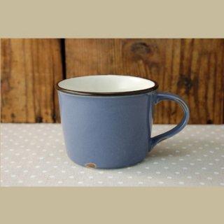 美濃焼  ホーローみたいなマグカップ (ブルー)