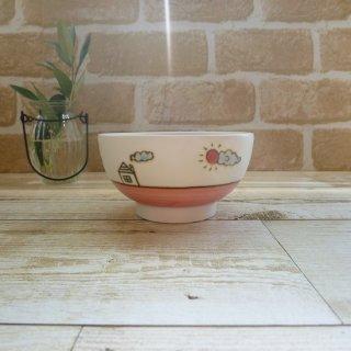 砥部焼 すこし屋 -SUKOSHIYA-  子ども茶碗(ピンク)