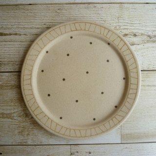 穂屋工房−inahoya− ケーキ皿(小)(ドット)