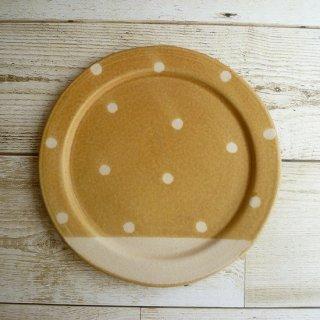 穂屋工房−inahoya− ケーキ皿(小)(茶)