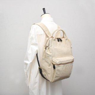 linen rucksack