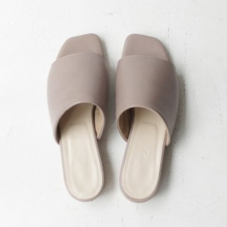 Ense×DELMONACO sandal -gray-