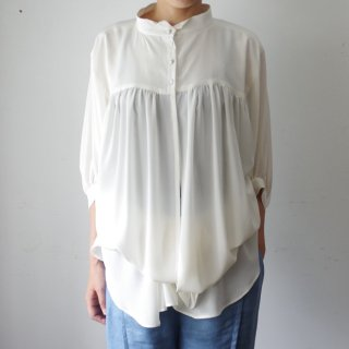 Y&T 「French Artistan's Shirt-white-」