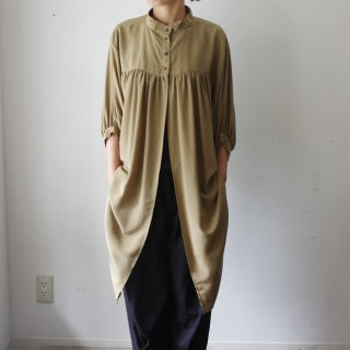 Y&T 「French Artisan's Shirt-brown-」