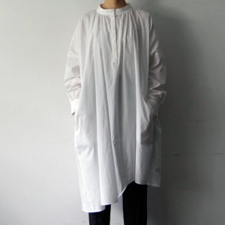 SI-HIRAI「DRY WASH ASYMMETRY FLARE DRESS 」