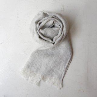 Ense linen stole -gray-