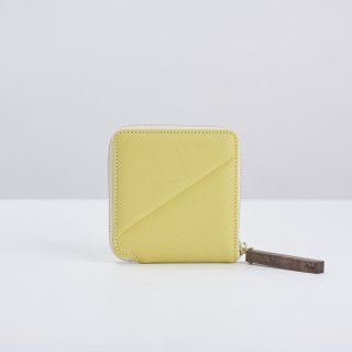 wood zipper wallet