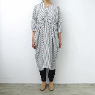 SI-HIRAI  「 RECTANGLE DRESS - stripe - 」
