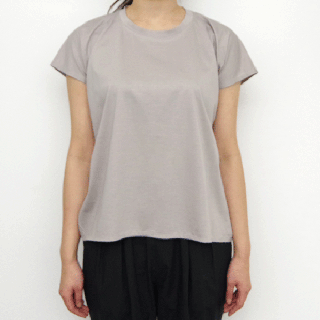 SI-HIRAI 「 RECTANGLE-T  - graybeige - 」