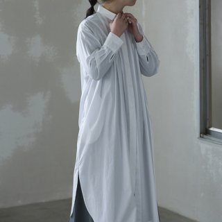 hiyoku long shirt one-pice  - white -