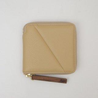 ☆wood zipper wallet