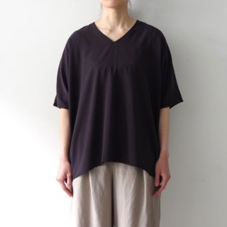 over blouse - navy -
