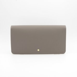 rubber touch long wallet