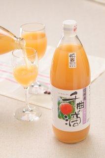 信州産白桃ジュース-千曲の滴〜寿高原食品(株)〜