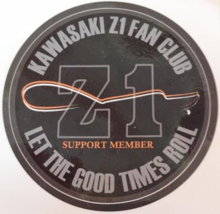 【ステッカー】 KAWASAKI Z1 FAN CLUB NEW CLUB SUPPORT ステッカー<img class='new_mark_img2' src='//img.shop-pro.jp/img/new/icons29.gif' style='border:none;display:inline;margin:0px;padding:0px;width:auto;' />