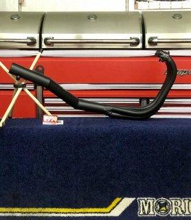 【要問合せ!在庫切れ中】 モリワキ Z400FX用 復刻手曲げ ショート管 限定生産品