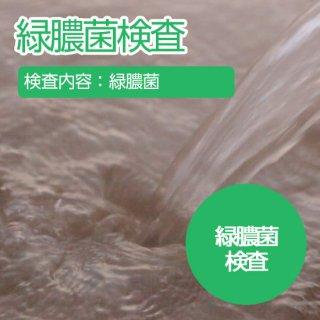 緑膿菌の検査