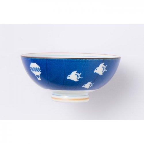 空に千鳥 茶碗