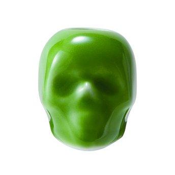 スカル歯ブラシスタンド 緑
