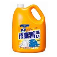 液体ビック作業着洗い 4.5kg 【4本入り】