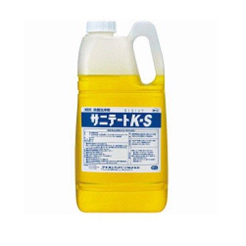 業務用洗剤 厨房用洗剤 床用洗剤 フロア用洗剤 サニテートK-S2kg サニテートK−S2kg サニテートK−S2kg ★