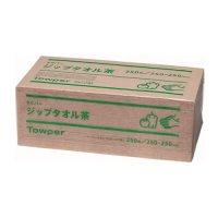 ジップタオル茶 250枚×15束