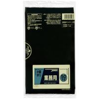 ジャパックス P-07業務用 小型用ポリ袋 黒0.02