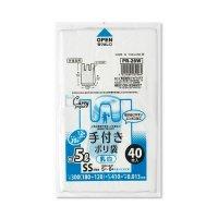 PR26W レジ袋 白半透明 SSサイズ ジャパックス 40枚入り×60冊【2,400枚】