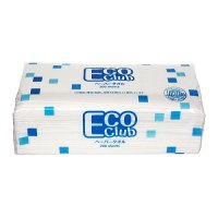 E8712 ペーパータオル 「ECO Club」 中判 200枚