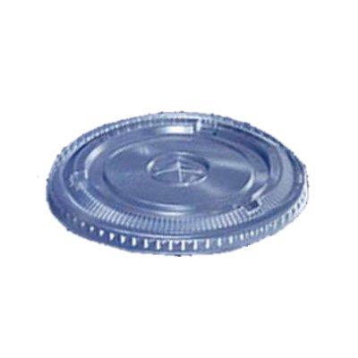 透明カップ 透明コップ プラカップ平蓋 12オンス用 ストロー穴付き DF−92