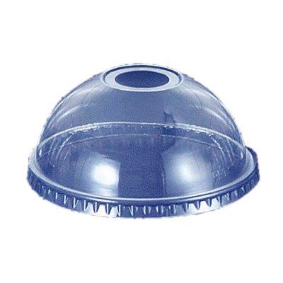 透明カップ 透明コップ プラカップドーム蓋 14〜20オンス用 穴付き DD−98